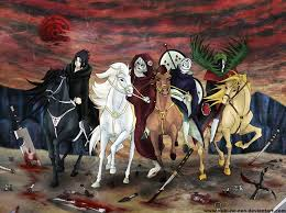 four horsemen of the apocalypse wallpaper wallpapersafari