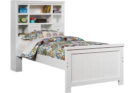 cottage colors white 3 pc twin bookcase bed twin beds colors
