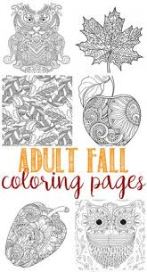 fall coloring pages for adults fall coloring pages coloring