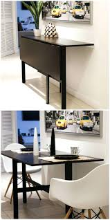 94 a console that can be turned into a dining table that