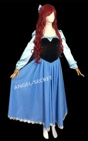 Ariel Mermaid Halloween Costume Ps245 Cosplay Kiss Ariel Princess Mermaid Women