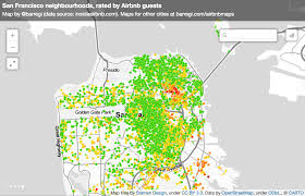 Maps To The Stars Review Maps Of Airbnb Reviews Reveal How Tourists Understand New Cities