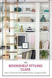 Bookshelf Styling Bookcase Styling Made Simple U2014 Coastal Collective Co