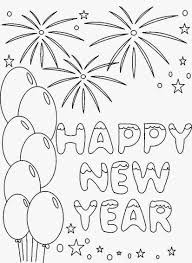 happy new year 2017 coloring pages to download and print for free