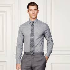 light grey dress shirt china made to measure slim fit long sleeve light grey men s dress