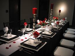 red table setting ideas table design and table ideas