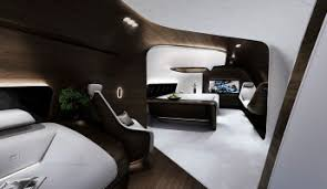 Aircraft Interior Design Mercedes Benz Designs Luxury Aircraft Interior For Lufthansa
