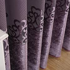 Black Out Curtain Fabric Purple Floral Luxury Blackout Curtains
