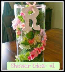 simple baby shower table decorations baby shower diy