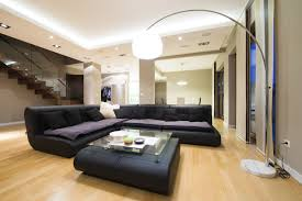 Recessed Lighting For Drop Ceiling by Living Room Living Room Sofa Ideas Features Arc Lamp Also Black