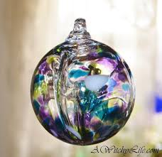 51 best witch balls images on glass ornaments