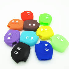 2 buttons glow silicone car key case font b cover b font for font b suzuki jpg
