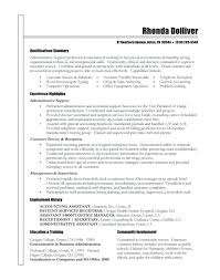 non technical resume stunning non technical skills for resume