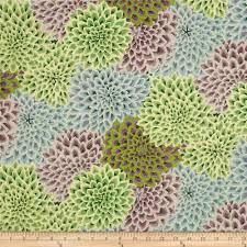 kaffe fassett dahlia blooms succulent discount designer fabric
