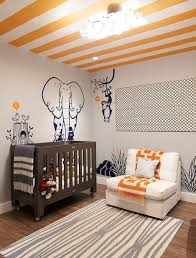 Grey And Orange Bedroom Ideas by Grey And Orange Nursery Bedding Decorating Ideas Eva Furniture