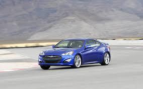 hyundai genesis 0 60 2013 hyundai genesis coupe 3 8 track test motor trend