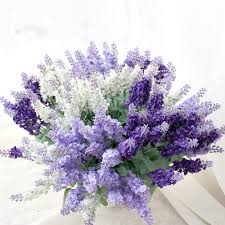 cheap flowers for wedding 10pcs lavender artificial flowers home wedding tale decoration