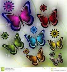 butterflies and flowers royalty free stock photos image 13516098