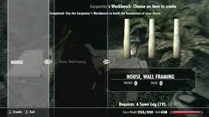 skyrim hearthfire house tutorial falkreath hd youtube