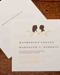 sles of wedding invitations vintage wedding invitations martha stewart weddings