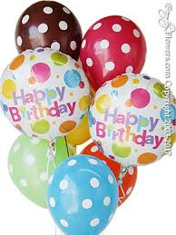 polka dot balloons happy birthday polka dot balloons for delivery in orange county ca