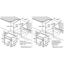 Comment Installer Un Four Encastrable by Neff B 55 Cr 22 N0 Chez Vanden Borre Comparez Et Achetez Facilement