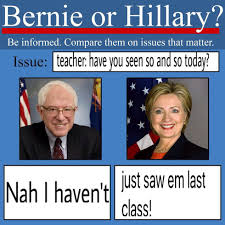 Hillary Memes - why the bernie vs hillary memes will affect the outcome of the