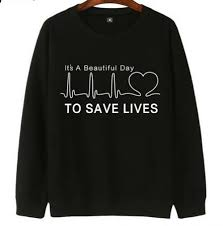 greys anatomy sweatshirt for men its a beautiful day to save lives