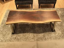 Wood Slice Coffee Table 15 Best Collection Of Live Edge Wood Coffee Table