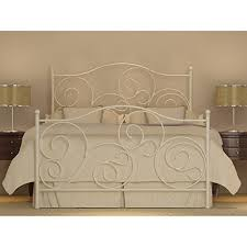 Country Bed Frame Holloway Country Cottage White Metal Bed Bed Frames