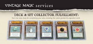 Mtg Invitational Cards Chapter 2 Old Magic U2013 The History Of U201cthe Deck U201d U2013 Vintage