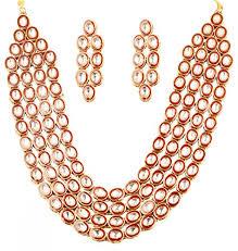 bridal jewelry necklace sets images Touchstone indian bollywood heavy kundan polki look meenakari work jpg