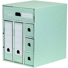 bankers box by fellowes style multi storage unit green white