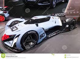 hyundai supercar concept hyundai muroc concept car at the iaa 2015 editorial stock image