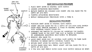 dodge neutral safety switch wiring dodge wiring diagram instructions