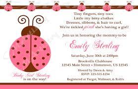 ladybug baby shower invitations u2013 gangcraft net