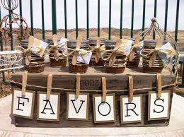 rustic wedding favor ideas rustic wedding favors ideas pass the to your guests