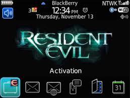 themes blackberry free download free blackberry 8520 os 5 0 theme resident evil blackberry forums