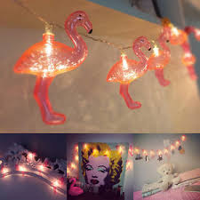 pink flamingo patio lights flamingo fairy led string lights pink for party patio porch wedding
