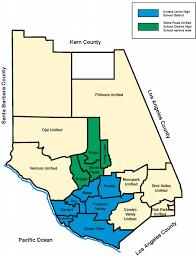 ventura county map ventura county office of education districts in ventura
