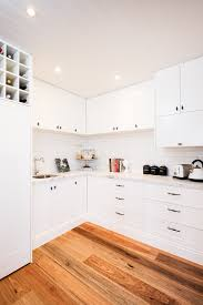 Kitchen Floor Plans With Island And Walk In Pantry by Walk In Pantry With Sheree Square Doors In Satin White Cabinetry