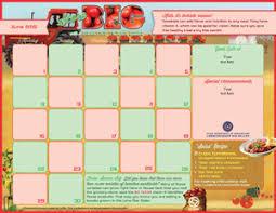 lunch calendar template 28 images f n menu calendar