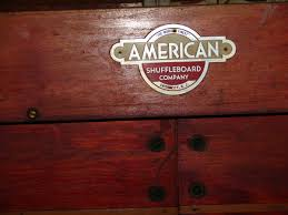 antique shuffleboard table for sale american shuffle board table collectors weekly