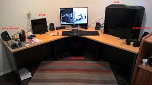 Custom Gaming Desks Pc Gaming Desk Pc Mac Linux Society Gamespot