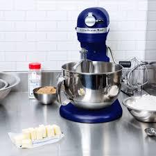 Purple Kitchenaid Mixer by Kitchenaid Kp26m1xbu Cobalt Blue Professional 600 Series 6 Qt