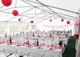 Deco Mariage Blanc Et Rouge by