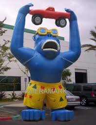 gorilla balloon custom advertising inflatables supply buy custom