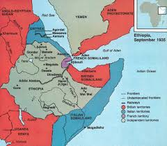 Map Of Eastern Africa by Africa And The British Empire Maps