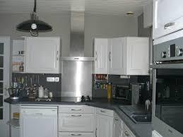 cuisine peinture grise peinture cuisine gris clair gallery of enchanteur avec