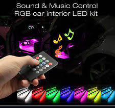 Led Strip For Car Interior Custom Car Interior Lighting Ebay